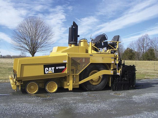 2008 Cat AP1000D Paver