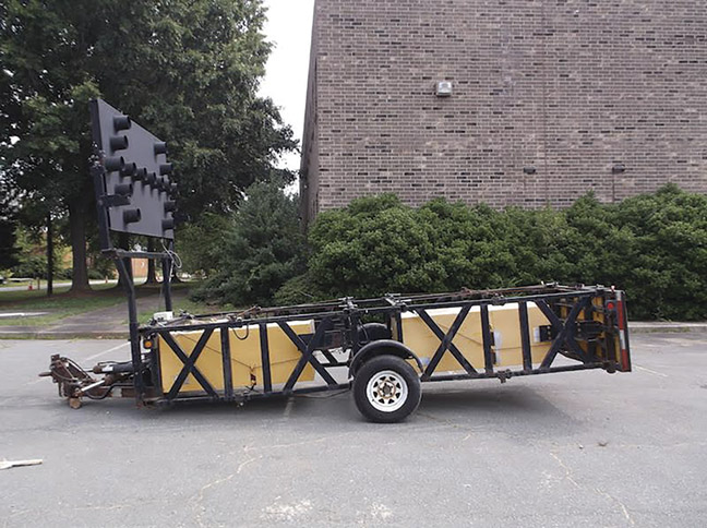 Energy Absorption Attenuator Trailers