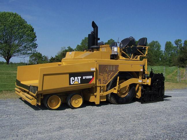 2010 CAT AP1000D Paver