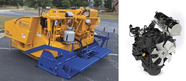 YANMAR Mastry Engine Center for Puckett Equipment's Asphalt Pavers