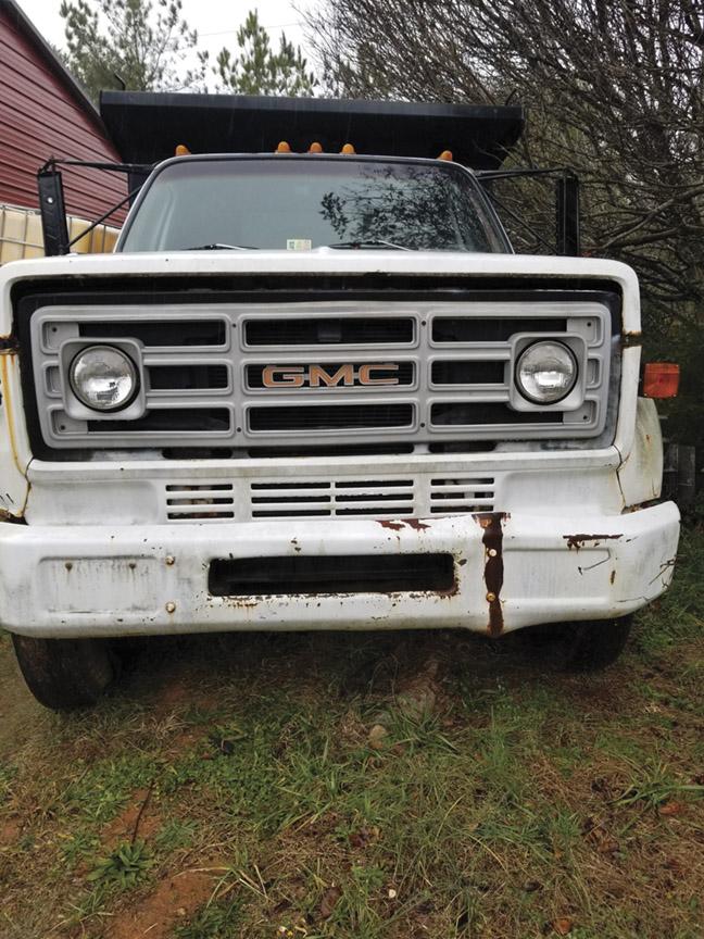 1979 GMC 6,000 Dump truck