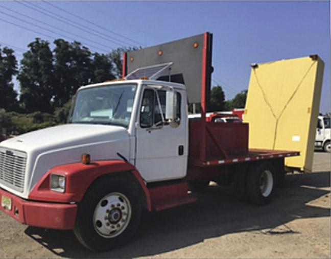 1999 Freightliner FL60 Attenuator Truck