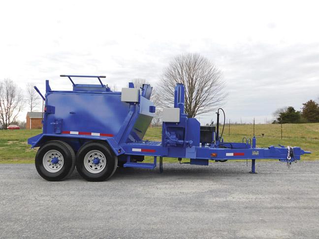 2014 Marathon HMT8000T (4 ton) hot mix transporter