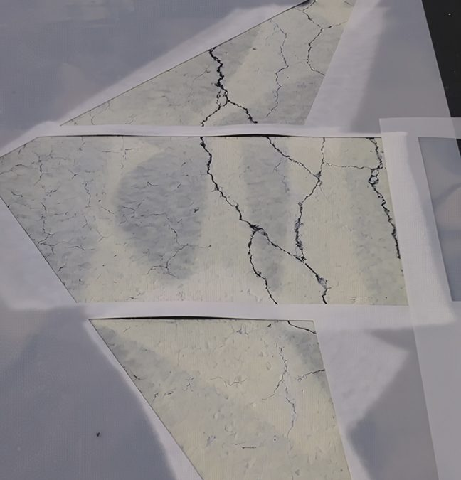 Acetone Paint May Turn  Green