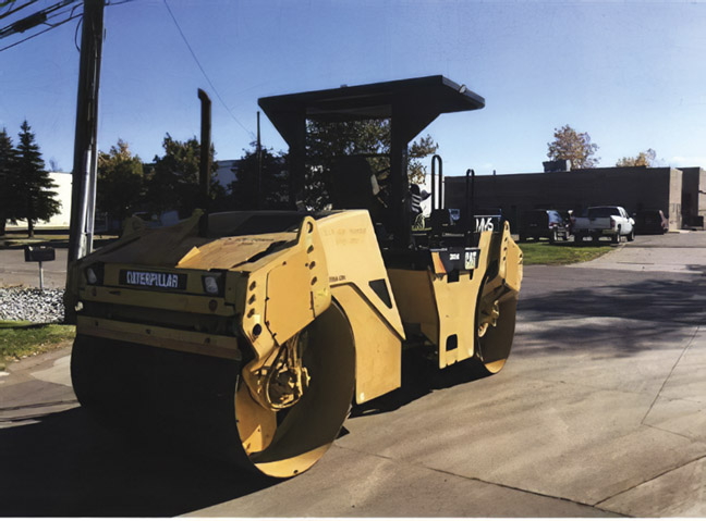 2007 CAT CB-534 D Vibratory Double Drum Roller