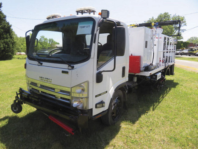 2008 Isuzu JCL Air Atomized Paint Truck