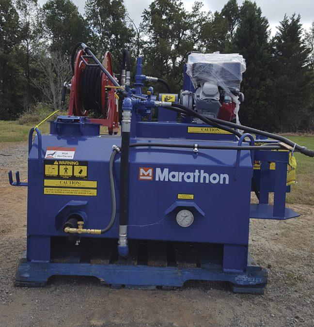 New Marathon TPS115S tack distributor