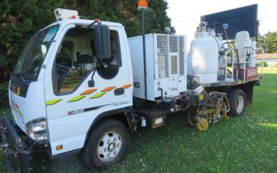 2006 GMC LDI Air  Atomized Paint Truck