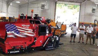 Stephenson Equipment and LeeBoy Raise 25K