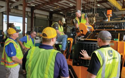What to look for when buying a new  commercial class paver