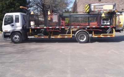2007 GMC T7500 High Production RPM Truck with Scorpion  Attenuator