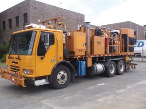 2003 Sterling Condor MB Large Capacity Airless Paint Truck