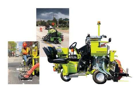 Road Striping Solutions From MRL Equipment