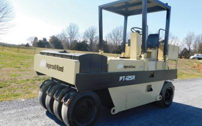 2003 Ingersoll Rand PT125R  pneumatic roller