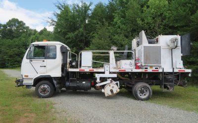 2000 UD MRL Grinder Truck