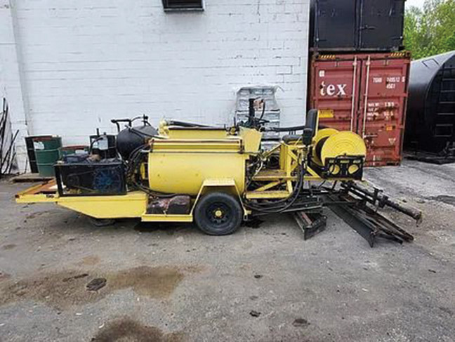 200 gallon Squeegee Machine